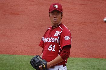 Pitcher Keiji Uezono gooide drie seizoenen voor het Japanse Rakuten Eagles.