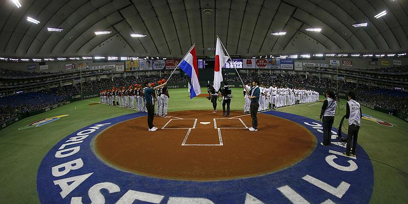 Nederland en Japan stonden voor het laatst in de Tokyo Dome tegenover elkaar tijdens de World Baseball Classic van 2013.