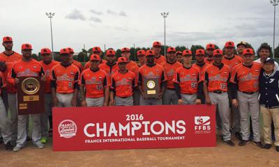 Voor de tweede keer op rij is het Nederlands Koninkrijksteam winnaar geworden van het France International Baseball Tournament.