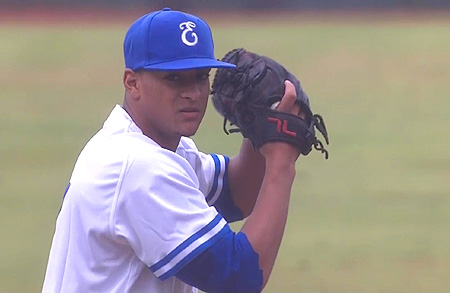 Pitcher Taylor Clemensia.