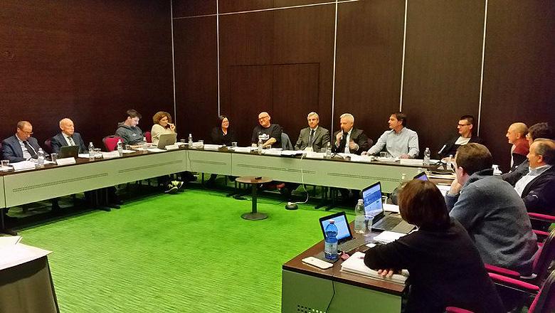 Het bondsbestuur van de FIBS kwam vandaag bijeen in het BHR hotel in Treviso.