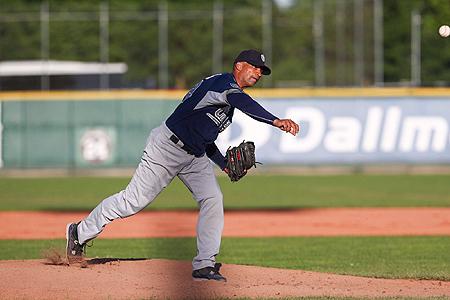 Na maar liefst twintig jaar is pitcher Elton Koeiman eer Europees kampioen geworden.