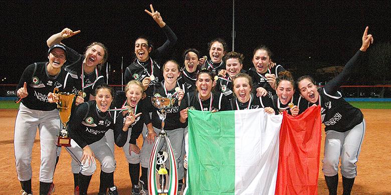 Forli is voor de vierde keer kampioen geworden van Italië.