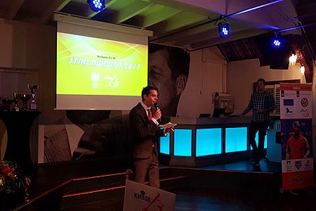 De presentatie was in handen van Jason Houtkamp.