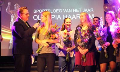 FysioExpert Olympia Haarlem werd uitgeroepen tot Sportploeg van het Jaar in de gemeente Haarlem.
