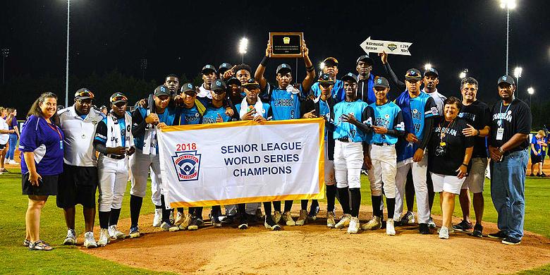 Na zestien jaar is Curaçao weer winnaar geworden van de Senior League World Series.