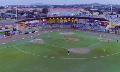 Het Tio Daou Ballpark in Santa Rosa.