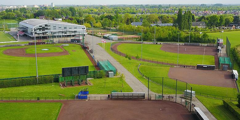 Het OKT softbal wordt in 2019 gehouden op Sportpark De Paperclip.