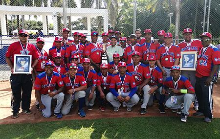 De Dominicaanse Republiek werd winnaar van de eerste editie van de Copa del Caribe.