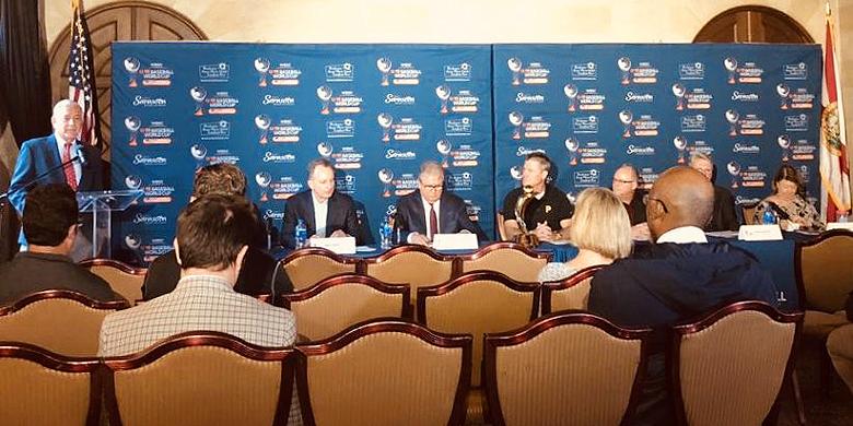 De WBSC en USA Baseball hielden vandaag een gezamenlijke bijeenkomst.