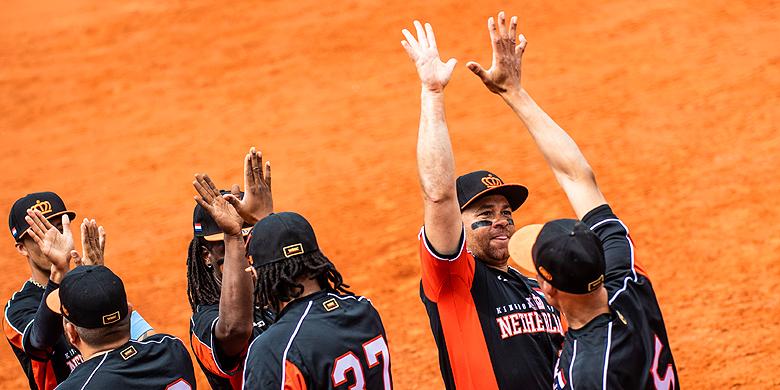 Tegen Singapore behaalde Nederland de grootste overwinning van dit WK tot dusver.