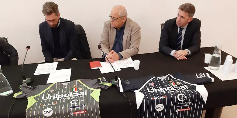 Stefano Michelini bij de presentatie van de club voor aanvang van het seizoen 2019.