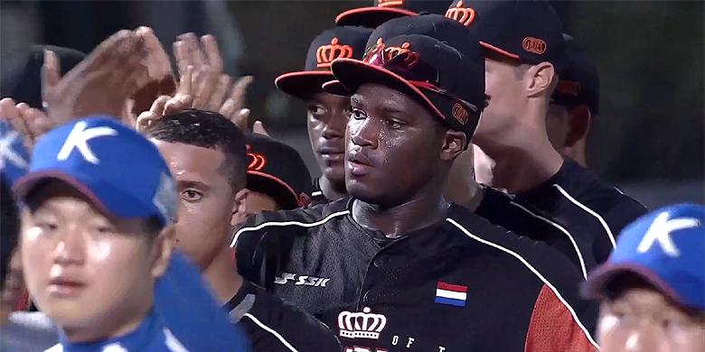 Het Nederlands Koninkrijksteam dwong de nummer twee van het vorige U18 WK tot extra innings.