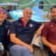 Van links naar rechts: Andrea D'Auria,Marco Mazzieri en Giovanni Pantaleoni.