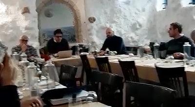 Massimo Fochi, Sanna en Marco Sforza vergaderden in Bologna.